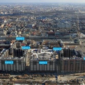 ЖК Московские ворота, ход строительства